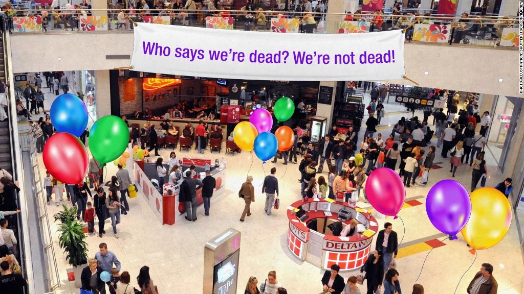 malls not dead