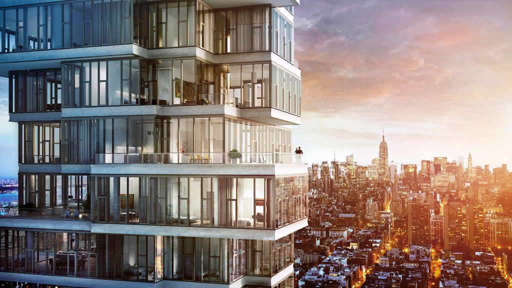 56 leonard street priciest new york city homes on sale for Most expensive home in manhattan