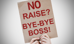 I'm outta here! 35% of workers say they'll quit if they don't get a raise
