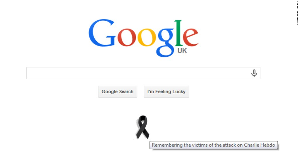 google homepage screen