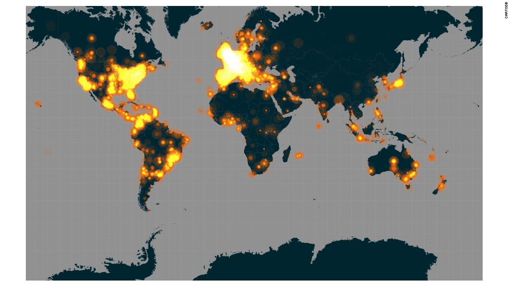 #JeSuisCharlie floods social media