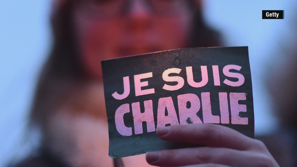 """Je Suis Charlie"" merchandise a booming cottage industry"