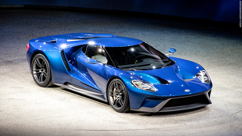 Ford unveils new GT supercar  Jan 12 2015