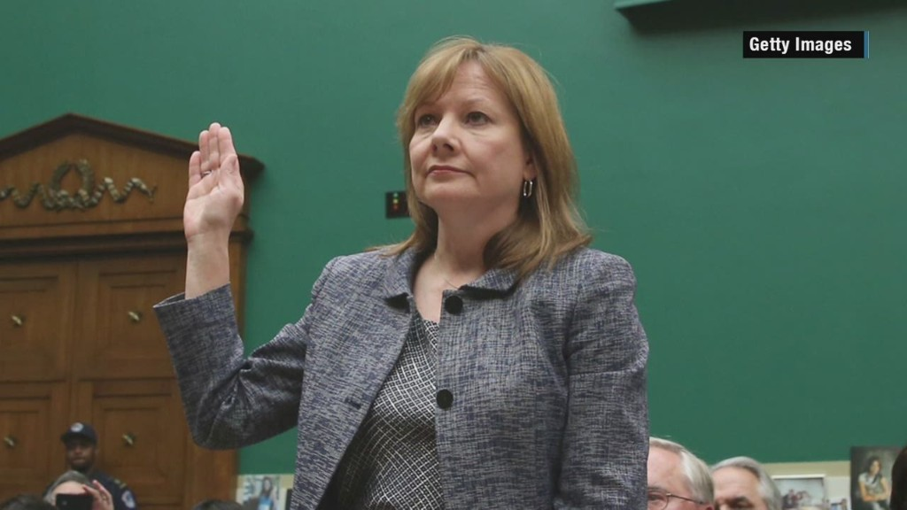 Mary Barra in 83 seconds