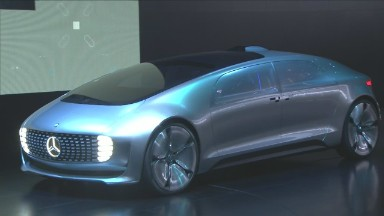 Mercedes visualizes the future of driving