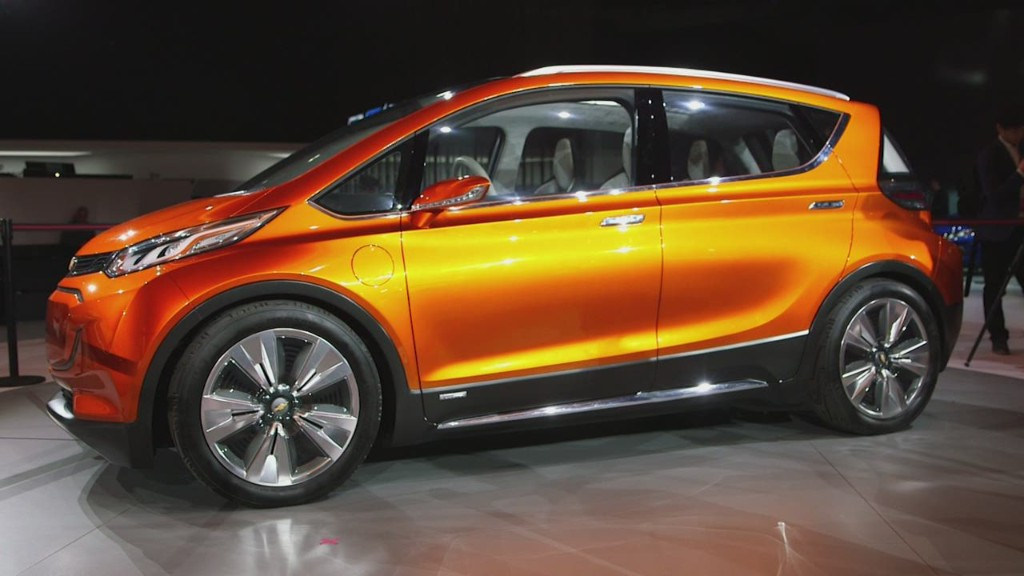 Chevy's new electric cars