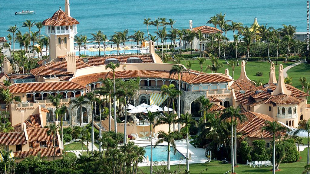 Donald Trump villa in Palm Beach,Florida