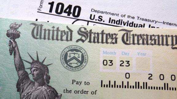 Average tax refund tops $2,800