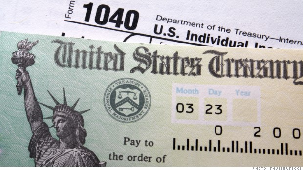 The average tax refund is now $2,893