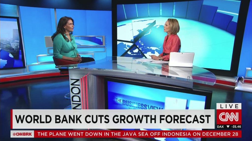 World Bank cuts growth forecast