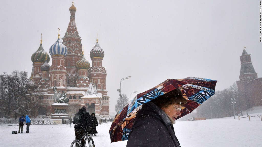 Russia Moscow red square