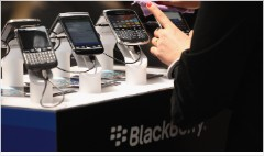 Blackberry soars 30% on reports of Samsung bid