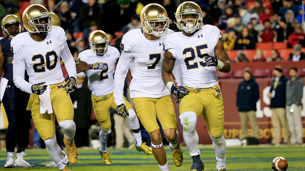 notre dame football - photo #7