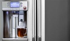 This $3,300 fridge has a built-in Keurig