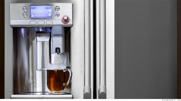This 3 300 Refrigerator Has A Keurig Coffee Maker Built