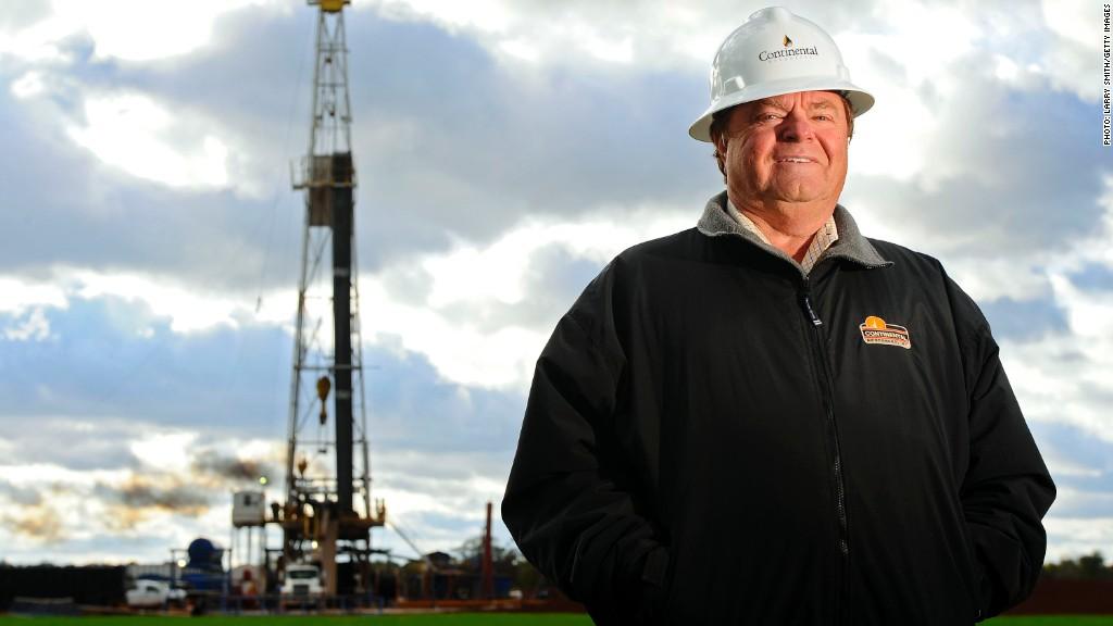 harold hamm oil field