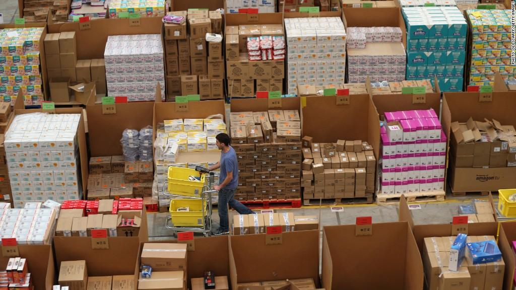 amazon warehouse england