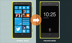 Microsoft patents 'Theater mode' for phones