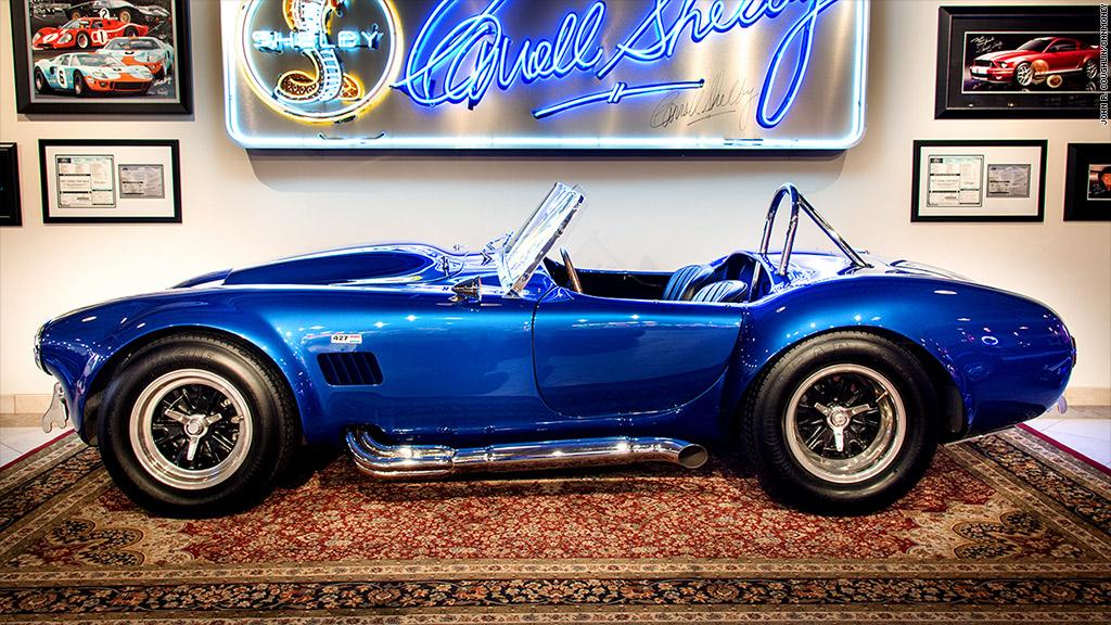 """1966 Shelby Cobra 427 """"Super Snake"""" - Ferraris sell for ..."""
