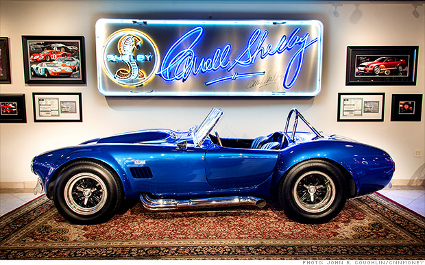 1966 shelby cobra 427 quot super snake quot ferraris sell for millions at