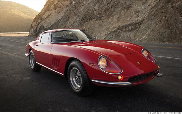 1966 Ferrari 275 GTB\/2 Longnose Coupe  Ferraris sell for millions at the Scottsdale auctions