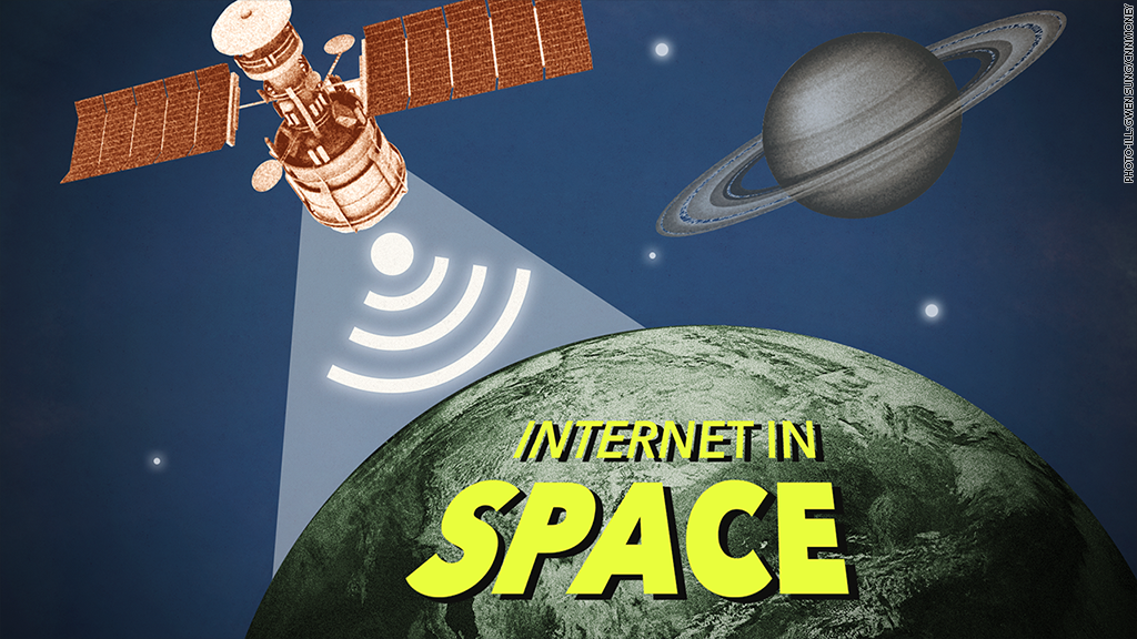 internet in space