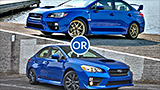 Subaru WRX sibling rivalry