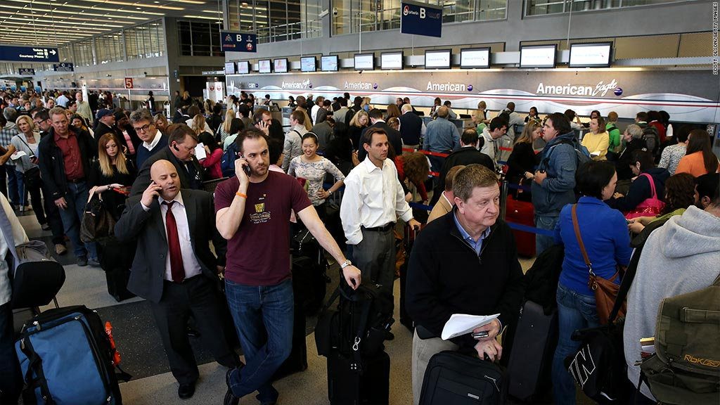 Blizzard of 2015: What was the cost of canceled flights?