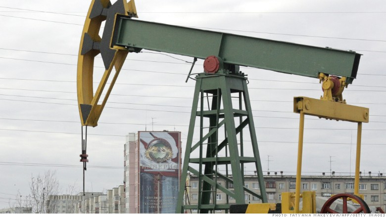 russia oil rig