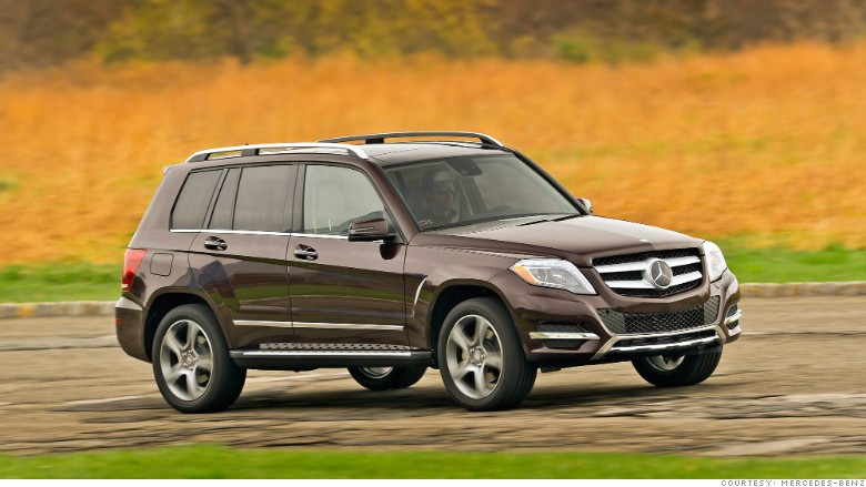 Luxury compact suv mercedes benz glk kbb 39 s best resale for Mercedes benz residual value