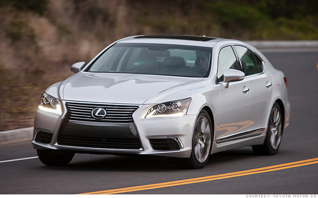 High End Luxury Cars: High-end Luxury Car Lexus LS 460