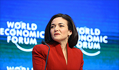 Facebook's Sandberg wants more women online
