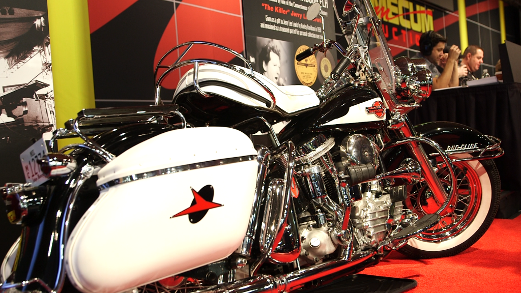 You can buy Jerry Lee Lewis' motorcycle