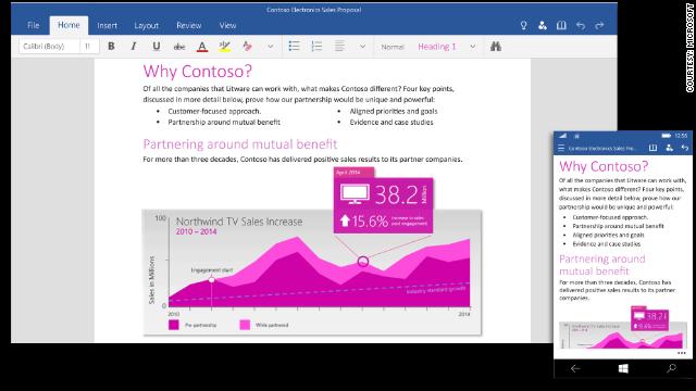 Microsoft revela la nueva versión de Office