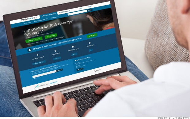 Obamacare website reins in personal data sharing