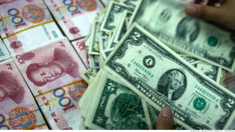 china dollars money