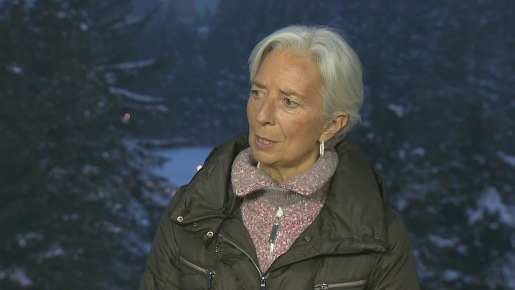 Christine Lagarde: Europe needs reform