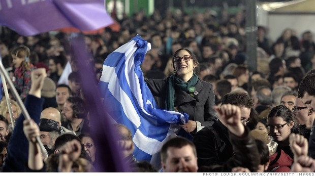 Greece's new anti-austerity government worries markets