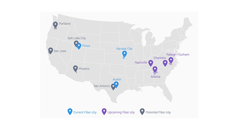 Google Fiber Expands To Four More Cities  Jan 27 2015