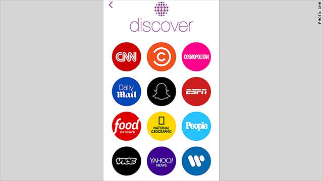 CNN y otros medios entran a Snapchat