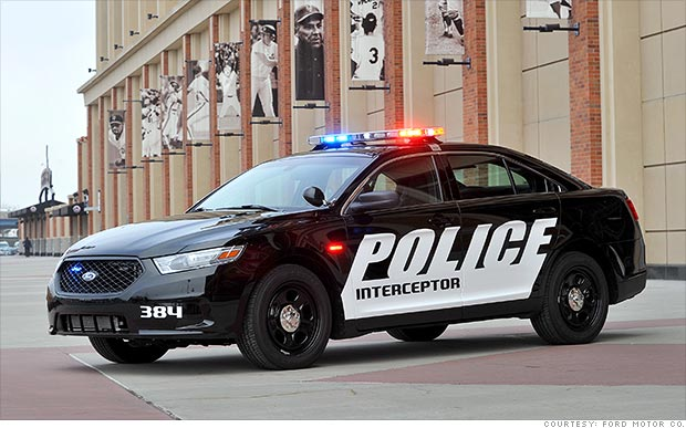 Ford is recalling this cop car