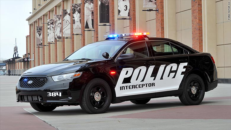 Ford recalls Interceptor police cars  Jan 28 2015