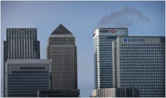 Qatar buys London's banking district