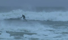 Long Island's blizzard surfers