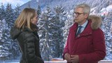 What issues dominated the Davos agenda?