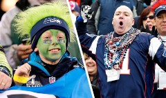 Seahawks v. Patriots: Who are the fans?