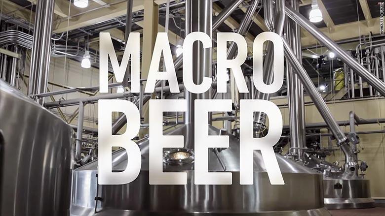 budweiser macro beer