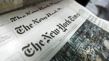 New York Times adds 41,000 subscriptions after Trump's election