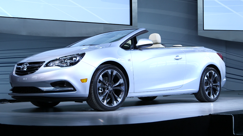 Buick reveals sporty 400 hp concept car  Jan 10 2016
