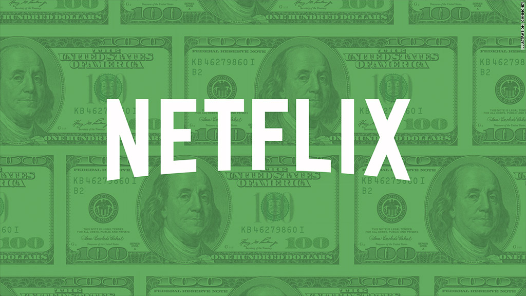 Investors binge buy Netflix